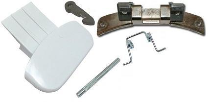 MANIGLIA Porta Porta Maniglia con gli assi Lavatrice Originale Bosch Siemens 751791